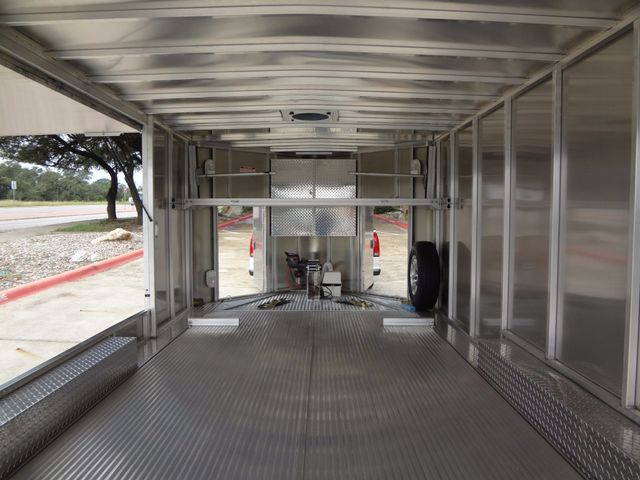 2011 Trailex CTE-80180 Enclosed Aluminum Trailer Austin , Texas 5