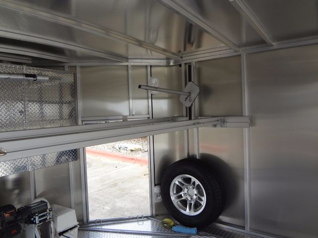 2011 Trailex CTE-80180 Enclosed Aluminum Trailer Austin , Texas 6