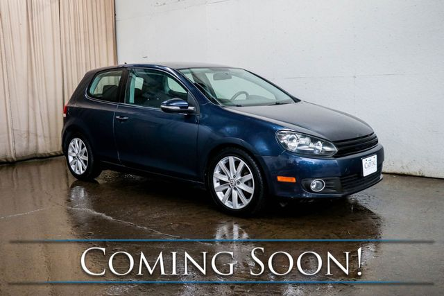 2011 Volkswagen Golf TDI Clean Diesel Hatchback w/6-Speed Manual, Premium Audio, Sport Seats and Gets 40+ MPG in Eau Claire, Wisconsin 54703