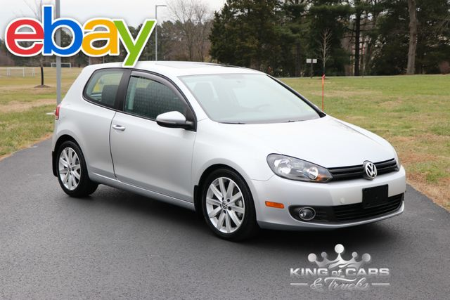 2011 Volkswagen Golf Tdi DIESEL 10K ACTUAL MILES 1-OWNER GARAGED LIKE NEW