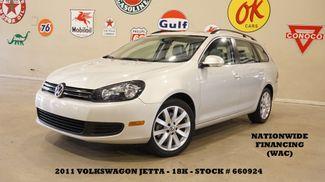 2011 Volkswagen Jetta SPORTWAGEN TDI AUTO,PANO ROOF,HTD LTH,18K in Carrollton, TX 75006