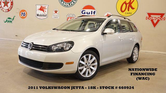 2011 Volkswagen Jetta SPORTWAGEN TDI AUTO,PANO ROOF,HTD LTH,18K