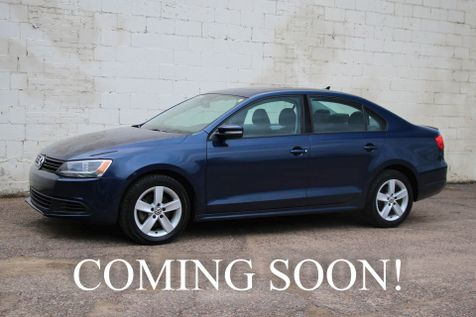 2011 Volkswagen Jetta TDI Clean Diesel w/6-Speed Manual, Power Moonroof, Heated Seats and Bluetooth Audio in Eau Claire
