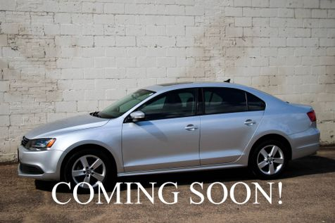 2011 Volkswagen Jetta TDI Clean Diesel w/Touchscreen Infotainment, Moonroof, Heated Seats & Gets 40+MPG in Eau Claire