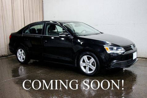 2011 Volkswagen Jetta TDI LE Clean Diesel w/6-Speed Manual, Heated Seats, Touchscreen Audio w/BT & Gets 42MPG in Eau Claire