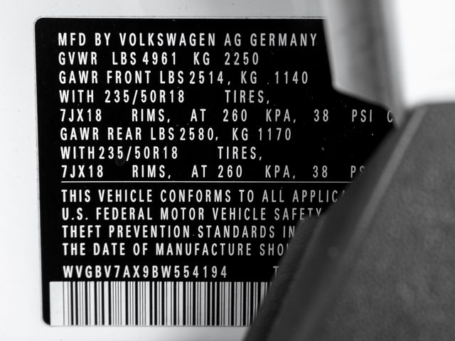 2011 Volkswagen Tiguan SEL 4Motion Burbank, CA 30