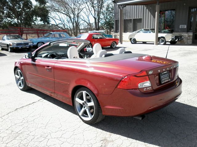 2011 Volvo C70 retractable convertible Boerne, Texas 4