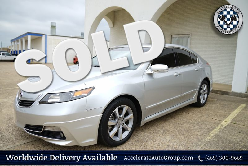 2012 Acura TL LOW MILEAGE Tech Package in Rowlett Texas