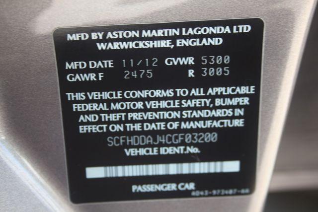 2012 Aston Martin Rapide Houston, Texas 52