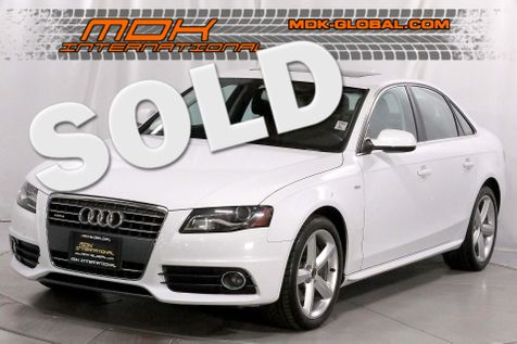 2012 Audi A4 2.0T Premium Plus - AWD - Manual - S-line Spor in Los Angeles