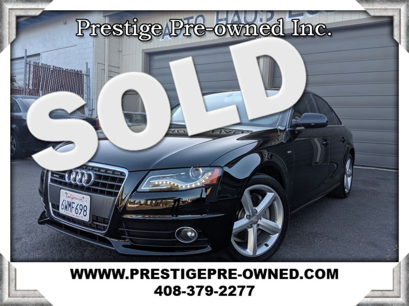 2012 Audi A4 2.0T PREMIUM PLUS  in Campbell CA