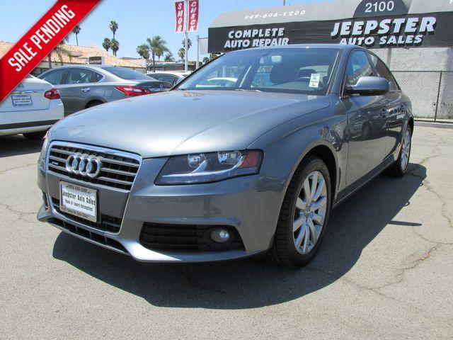 2012 Audi A4 2.0T Premium in Costa Mesa, California 92627