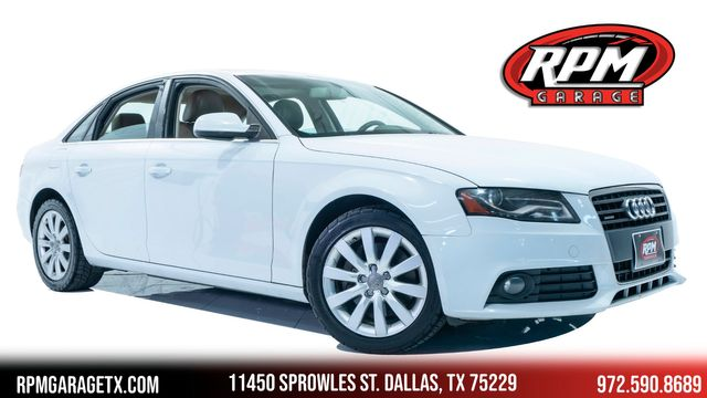 2012 Audi A4 2.0T Premium Rare 6speed Manual