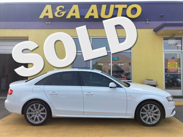 2012 Audi A4 2.0T Premium Plus in Englewood, CO 80110