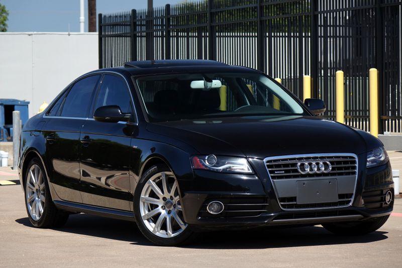 2012 Audi A4 2.0T Premium Plus S-Line   Plano, TX   Carrick's Autos in Plano TX