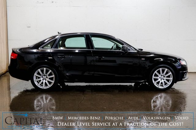 """2012 Audi A4 Premium Plus Quattro AWD Luxury Sedan with Heated Seats, Moonroof, Xenons & 18"""" Wheels in Eau Claire, Wisconsin 54703"""
