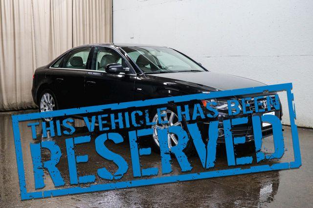 "2012 Audi A4 Premium Plus Quattro AWD Luxury Sedan with Heated Seats, Moonroof, Xenons & 18"" Wheels"