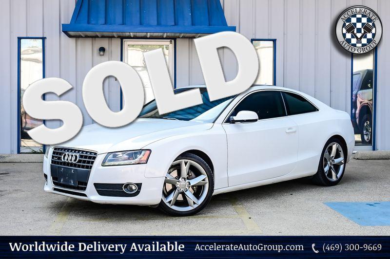 2012 Audi A5 2.0T Premium Plus Navigation Heated Seats Nice!! in Rowlett Texas