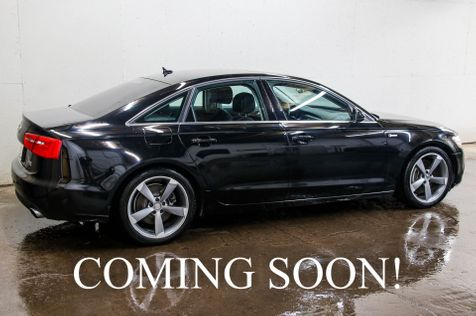 2012 Audi A6 3.0T Premium Plus AWD w/Navigation,  Heated Seats, Backup Camera and Audi Drive-Select in Eau Claire