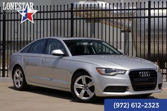 2012 Audi A6 Clean Carfax Premium Plus in Plano Texas, 75093