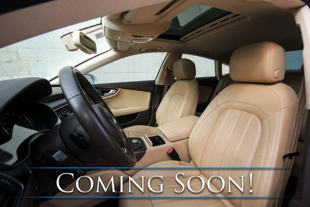 "2012 Audi A7 3.0T Prestige Quattro AWD Hatchback w/Nav, Heated/Ventilated Seats, BOSE Audio & 20"" Wheels in Eau Claire, Wisconsin 54703"