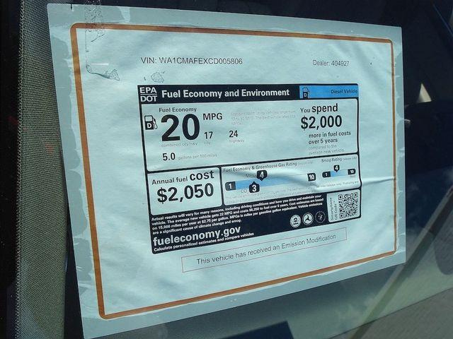 2012 Audi Q7 3.0L TDI Premium Madison, NC 56