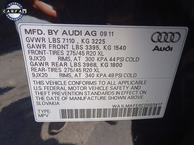 2012 Audi Q7 3.0L TDI Premium Plus Madison, NC 57