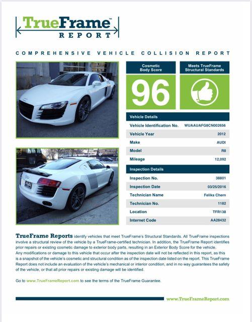 2012 Audi R8 4.2L Houston, Texas 9