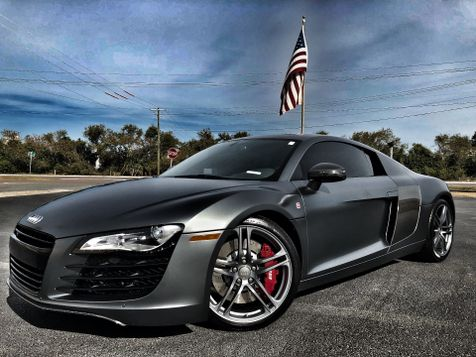 2012 Audi R8 SIGNATURE SERIES CARBON FIBER R8 MATTE GREY in , Florida