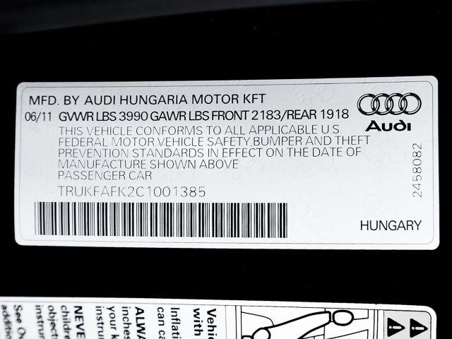 2012 Audi TT 2.0T Prestige Burbank, CA 27