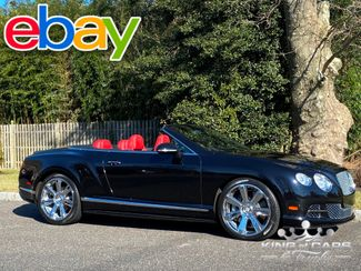 2012 Bentley Continental Gtc CONVERTIBLE 12K MILES W12 TWIN TURBO RED INTERIOR MULLINER in Woodbury, New Jersey 08093