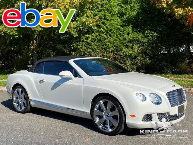 2012 Bentley Continental Gtc ONLY 23K MILES 6.0L V12 TWIN TURBO LOADED RARE