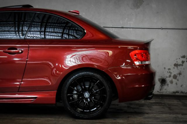 2012 BMW 135i w/ M-Sport Package on MSW Wheels in Addison, TX 75001