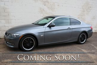 2012 BMW 328xi xDrive AWD Luxury Coupe w/Moonroof, Heated Seats & Steering Wheel, Xenons & Low Miles in Eau Claire, Wisconsin 54703