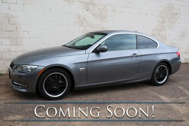 2012 BMW 328xi xDrive AWD Luxury Coupe w/Moonroof, Heated Seats & Steering Wheel, Xenons & Low Miles