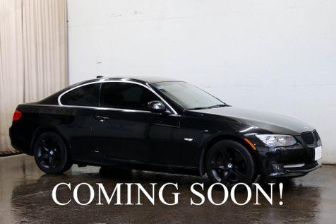 2012 BMW 335xi xDrive AWD Coupe w/Navigation, Heated Seats, Harman/Kardon Audio, Moonroof & Blacked Out Wheels in Eau Claire