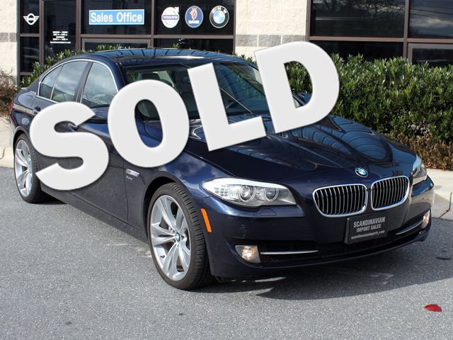 2012 BMW 528i xDrive Camera / NAV / Park Assist Rockville, Maryland