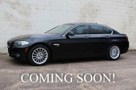 2012 BMW 535xi xDrive Luxury-Sport Sedan w/Navigation Heated Seats Moonroof Bluetooth & 2-Tone Interior in Eau Claire