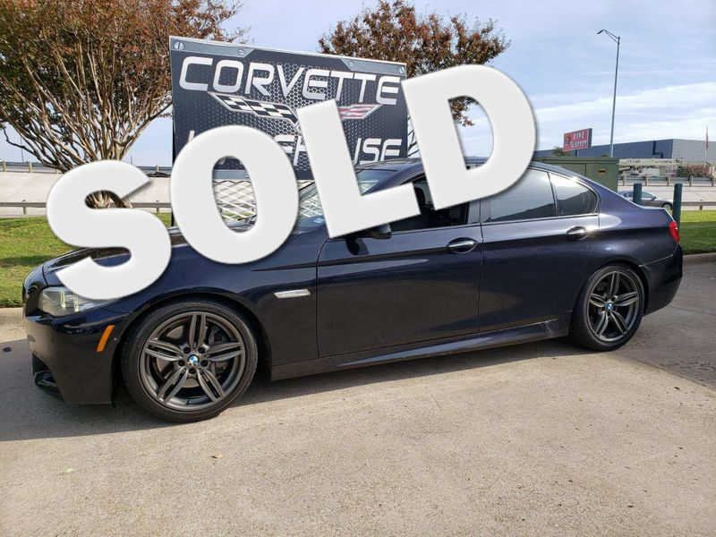 2012 BMW 550i Sedan Auto, Sunroof, NAV, Alloy Wheels, Only 83k!   Dallas, Texas   Corvette Warehouse