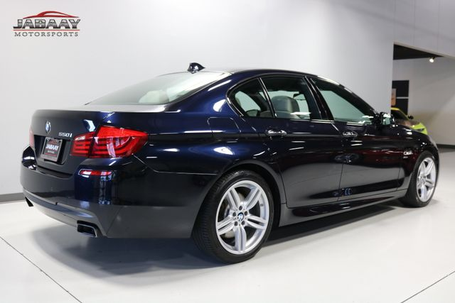 2012 BMW 550i xDrive Merrillville, Indiana 4