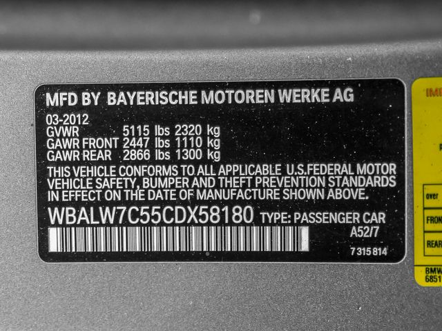 2012 BMW 640i Burbank, CA 29