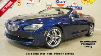 2012 BMW 650i Convertible HUD,NAV,BACK-UP CAM,F&TOP CAM,HTD L... in Carrollton TX, 75006