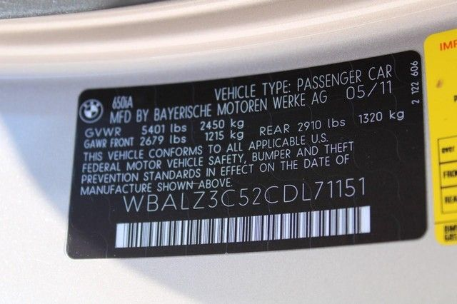 2012 BMW 650i St. Louis, Missouri 25