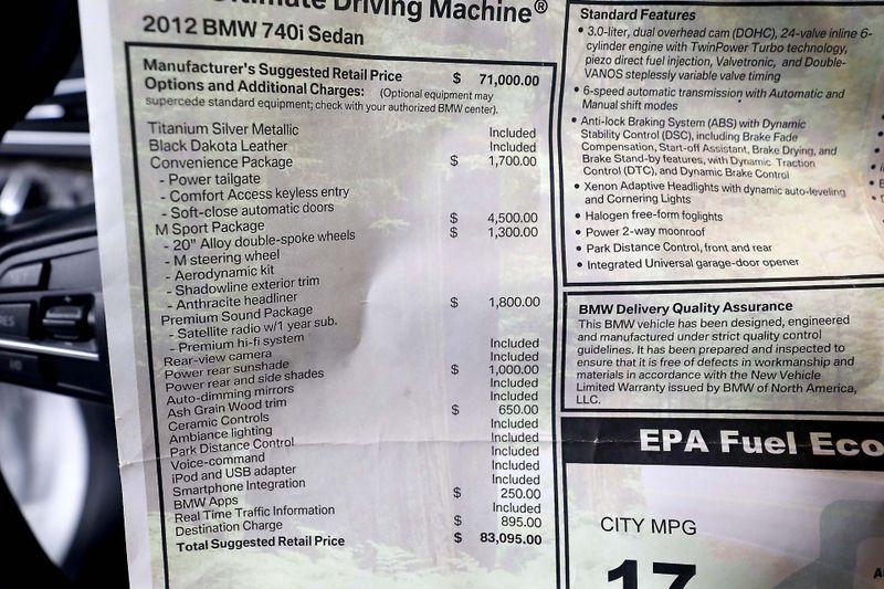 2012 BMW 740i - M Sport pkg - Only 52K miles  city California  MDK International  in Los Angeles, California
