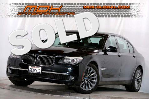 2012 BMW 740Li - Comfort seats - Back up camera in Los Angeles