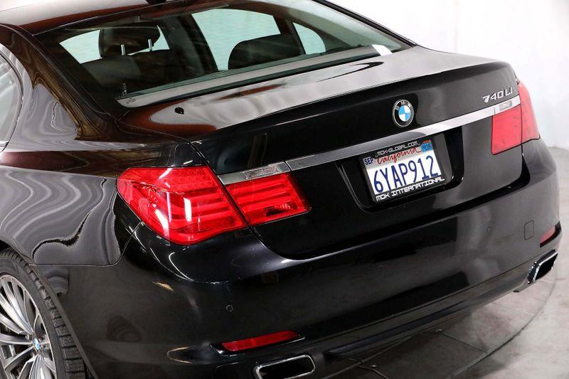 2012 BMW 740Li - Comfort seats - Back up camera  city California  MDK International  in Los Angeles, California