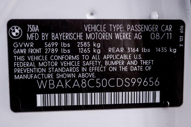 2012 BMW 750i Reseda, CA 44