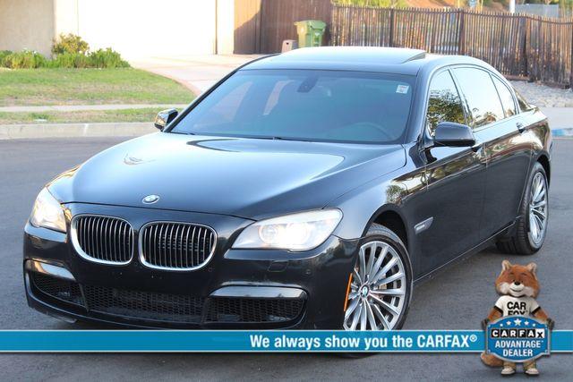 2012 BMW 750Li NAVIGATION HEAD-UP DISPLAY SERVICES RECORDS XLNT CONDITION