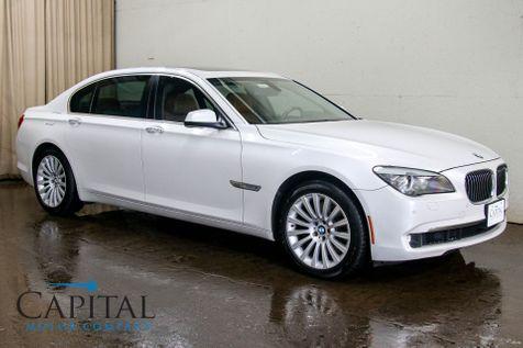 2012 BMW 750Li xDrive AWD Executive Sedan w/Nav, Heated & Cooled Seats Power Close Doors & Gorgeous Interior in Eau Claire
