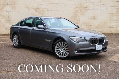 2012 BMW 750xi xDrive AWD Executive Sedan w/Climate Controlled Seats, Navigation & Professional Audio in Eau Claire